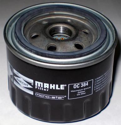 Фильтр масляный Mahle/Knecht Filter OC 384