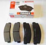 Колодки тормозные дисковые на Шевроле Нива передние FERODO FDB195
