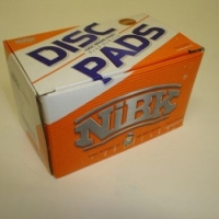 Колодки тормозные дисковые на Шевроле Нива передние NIBK PN0230