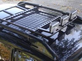 Комплект грузовой платформы на Шевроле Нива Лидер