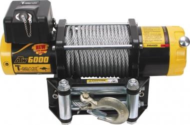Лебедка электрическая T-MAX PRO 6000 OFF-ROAD Improved 12 В