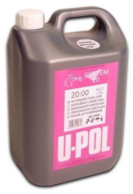 Обезжириватель-антисиликон на основе органических растворителей U-POL 5л