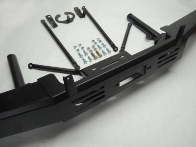 Силовой бампер передний с площадкой под лебедку Нива