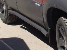 Силовые пороги Chevrolet Niva
