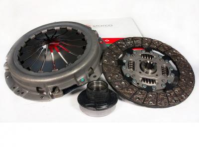 Сцепление Starco в сборе УАЗ дв.ЗМЗ-514, 409 КПП DYMOS (Корея) 5 ступ. тонкий вал, двойной демпфер